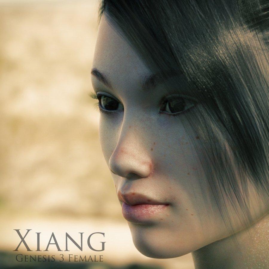 Xiang for Genesis 3 Female_DAZ3D下载站