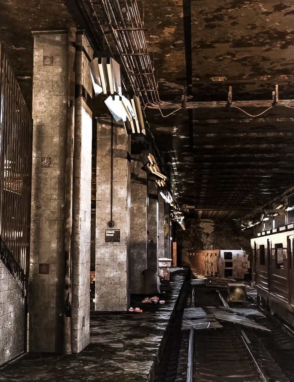 Abandoned Subway Station_DAZ3D下载站