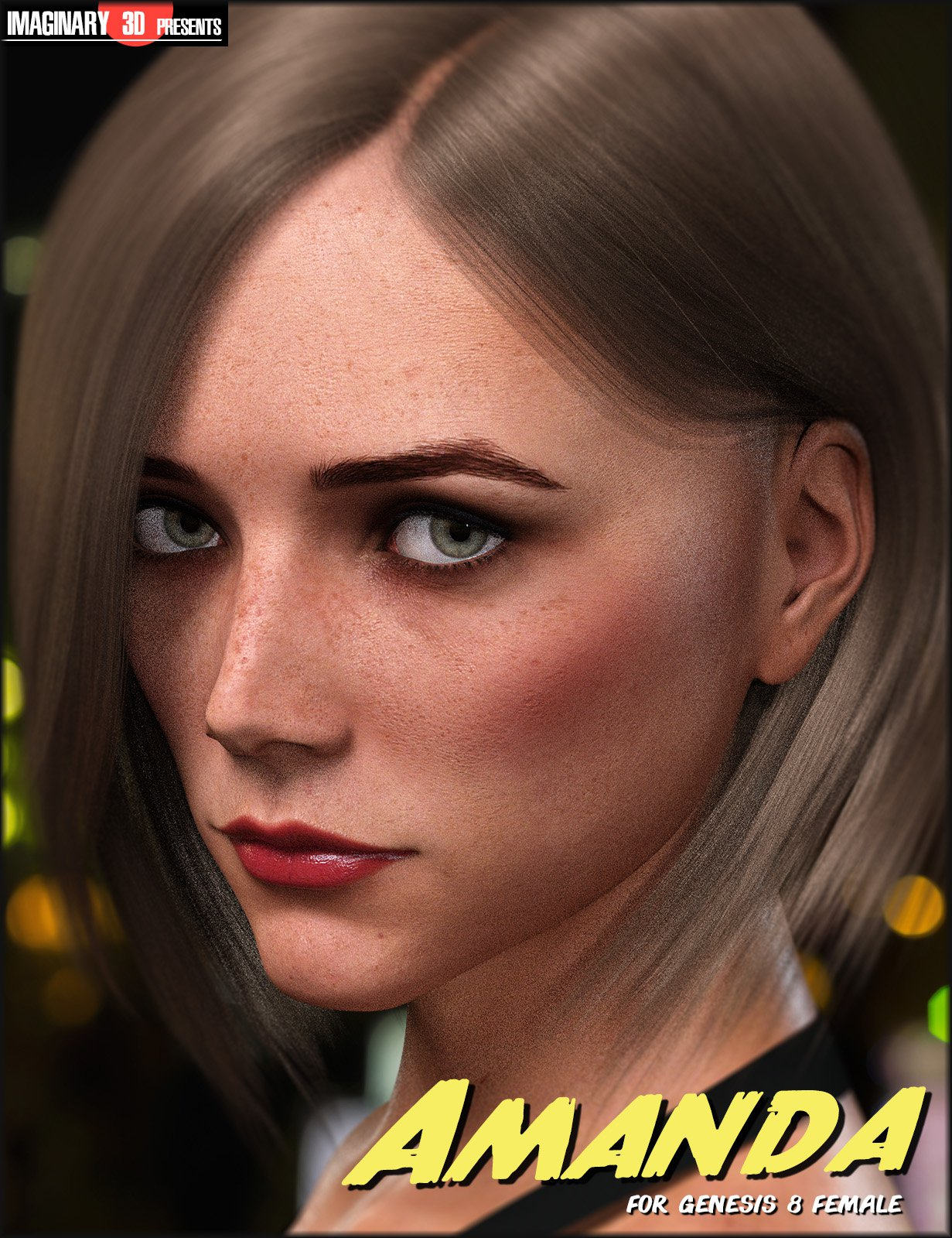 Amanda for Genesis 8 Female_DAZ3D下载站