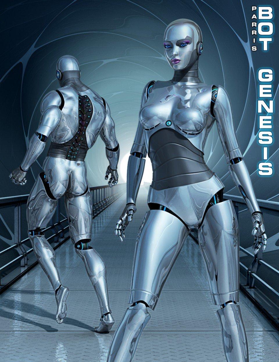Bot Genesis_DAZ3D下载站