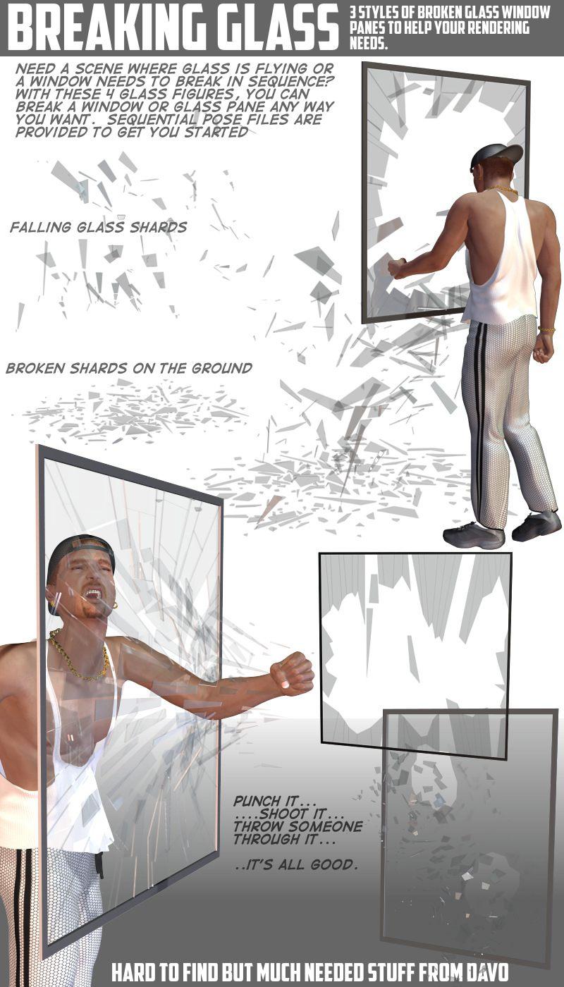 Breaking Glass_DAZ3D下载站