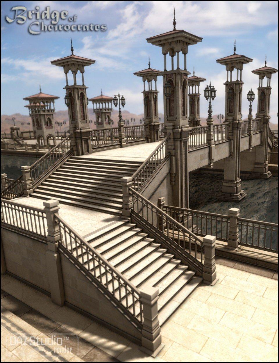 Bridge of Cheirocrates_DAZ3D下载站