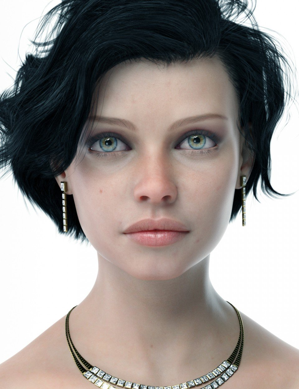Catriona HD for Genesis 8 Female_DAZ3D下载站