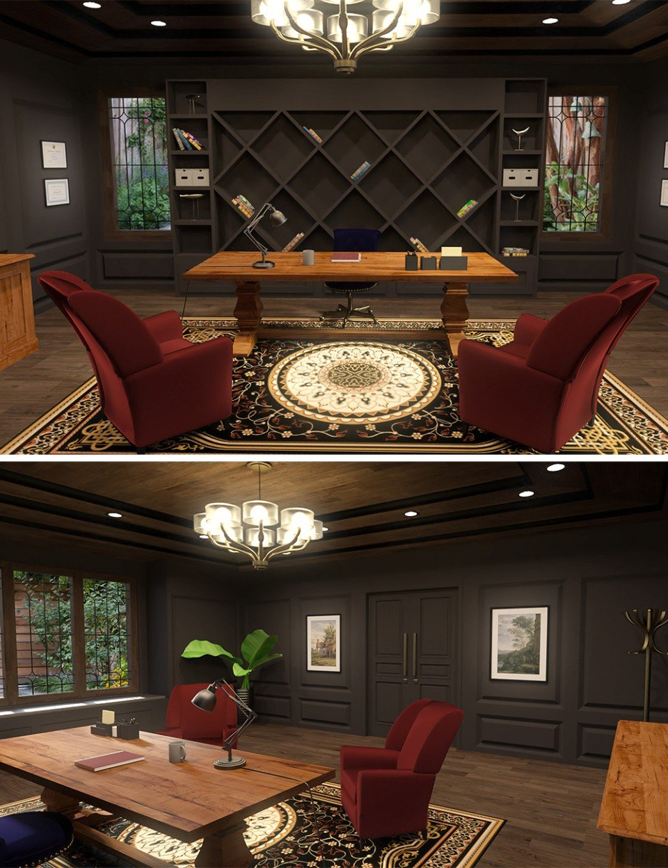 Executive Office_DAZ3D下载站