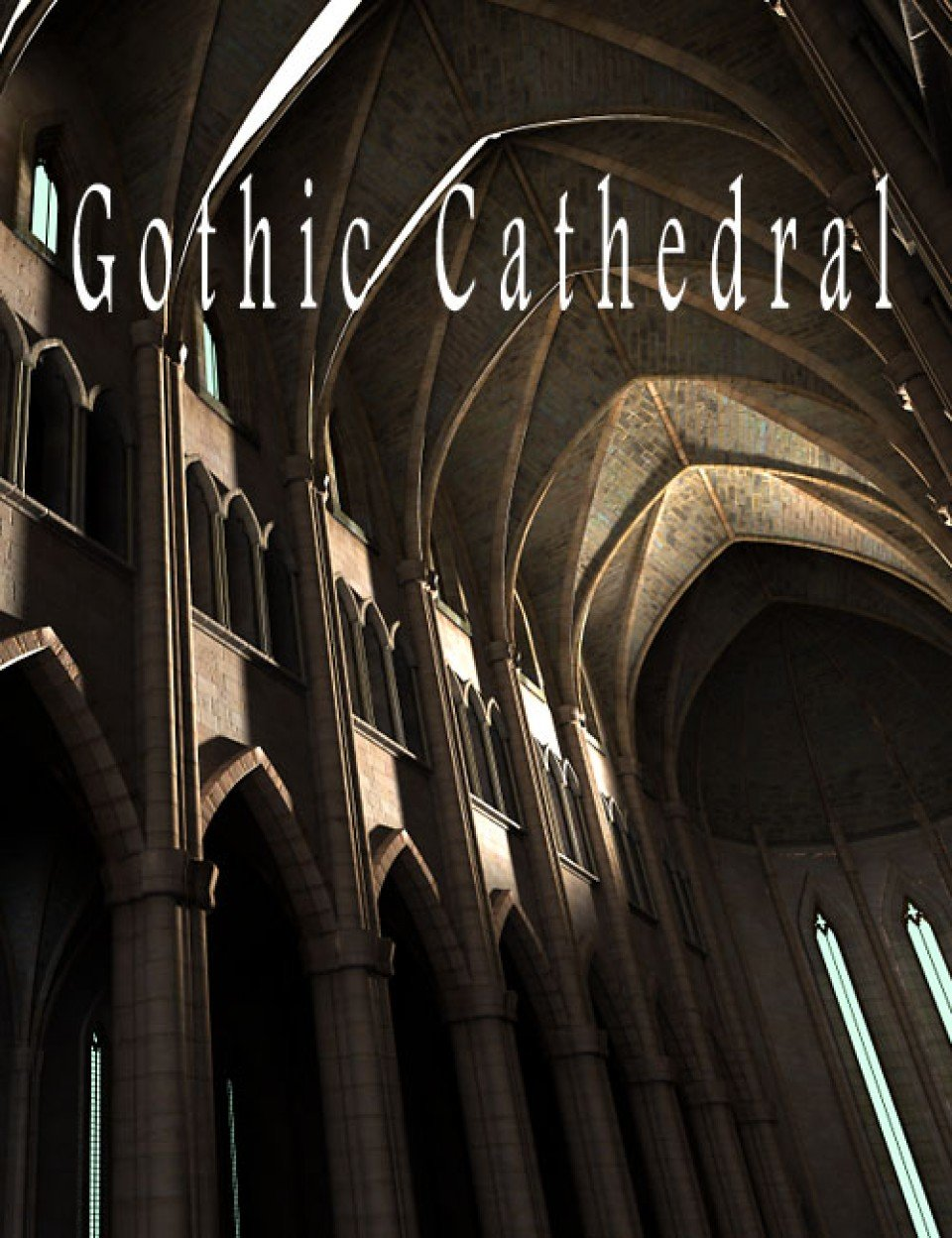 Gothic Cathedral_DAZ3D下载站