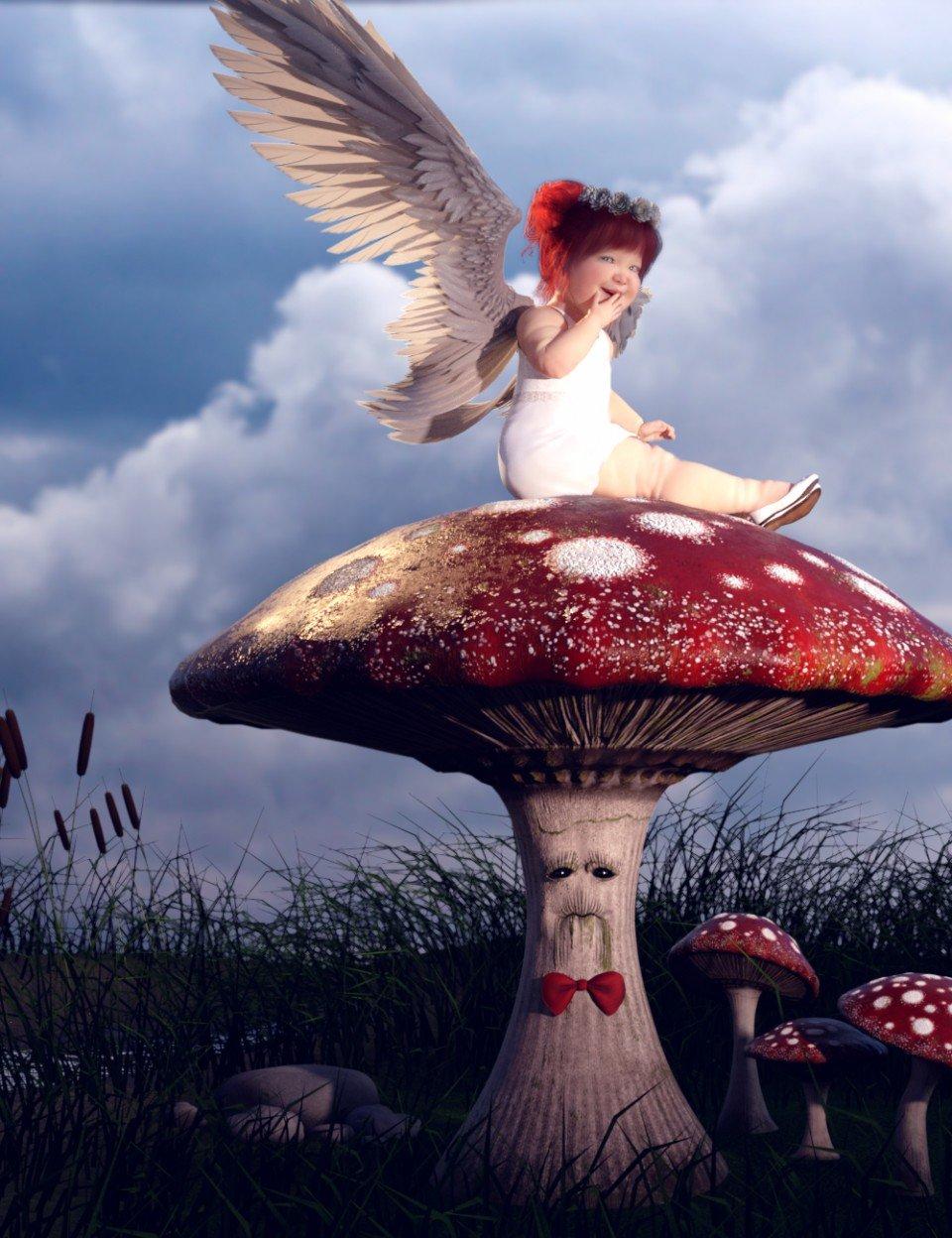 Mister Mushroom_DAZ3D下载站