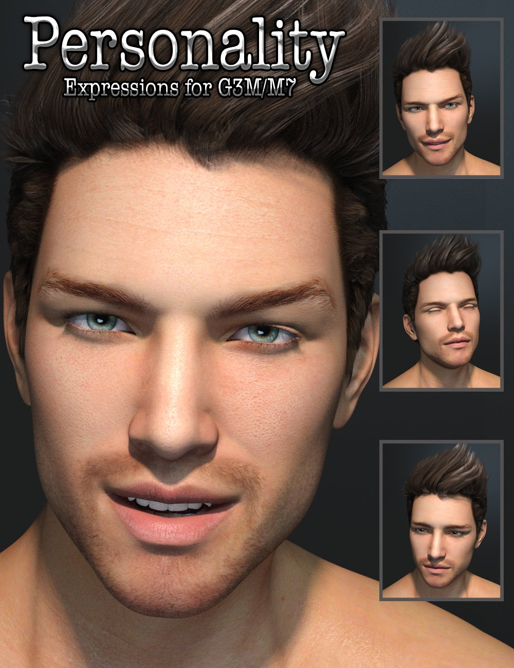 Personality for G3M/M7_DAZ3D下载站