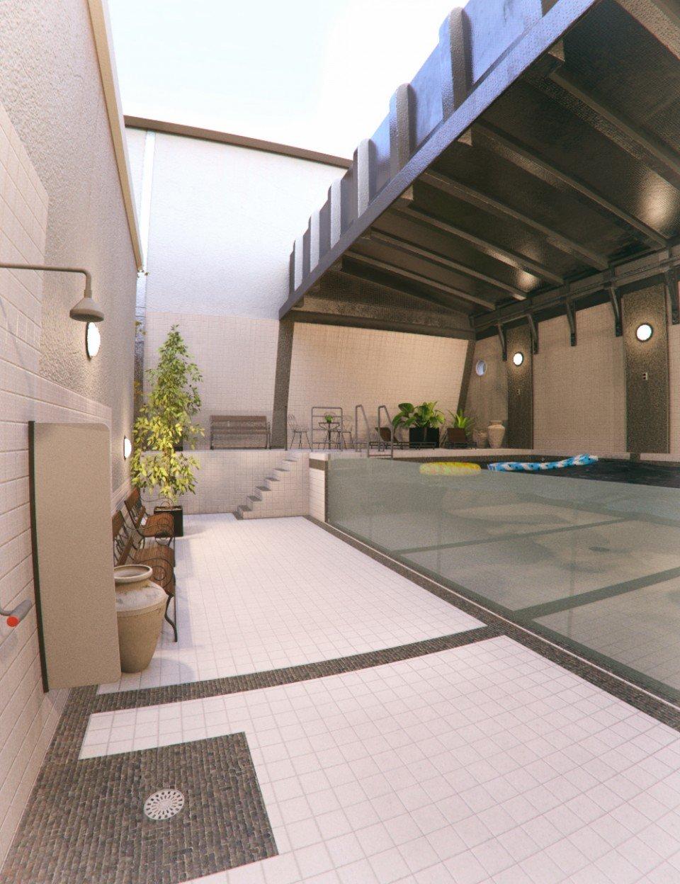 Private Pool_DAZ3D下载站