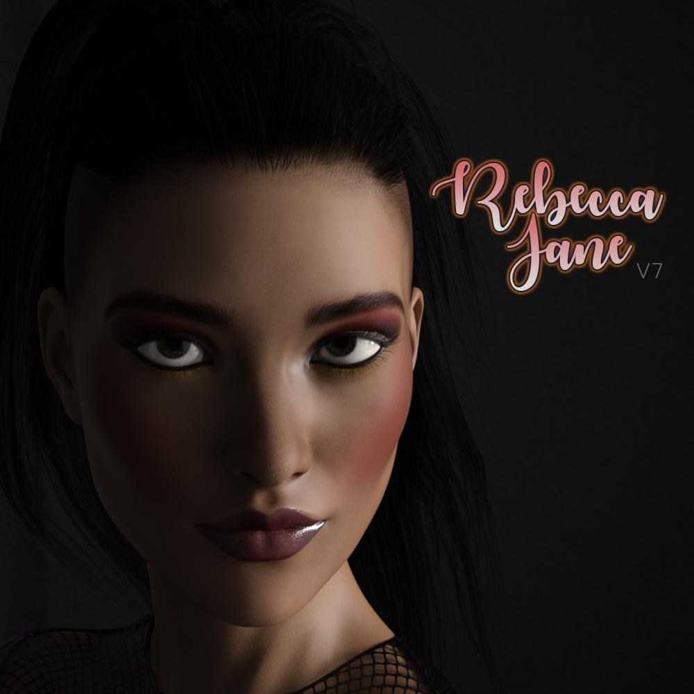 Rebecca Jane for V7_DAZ3D下载站