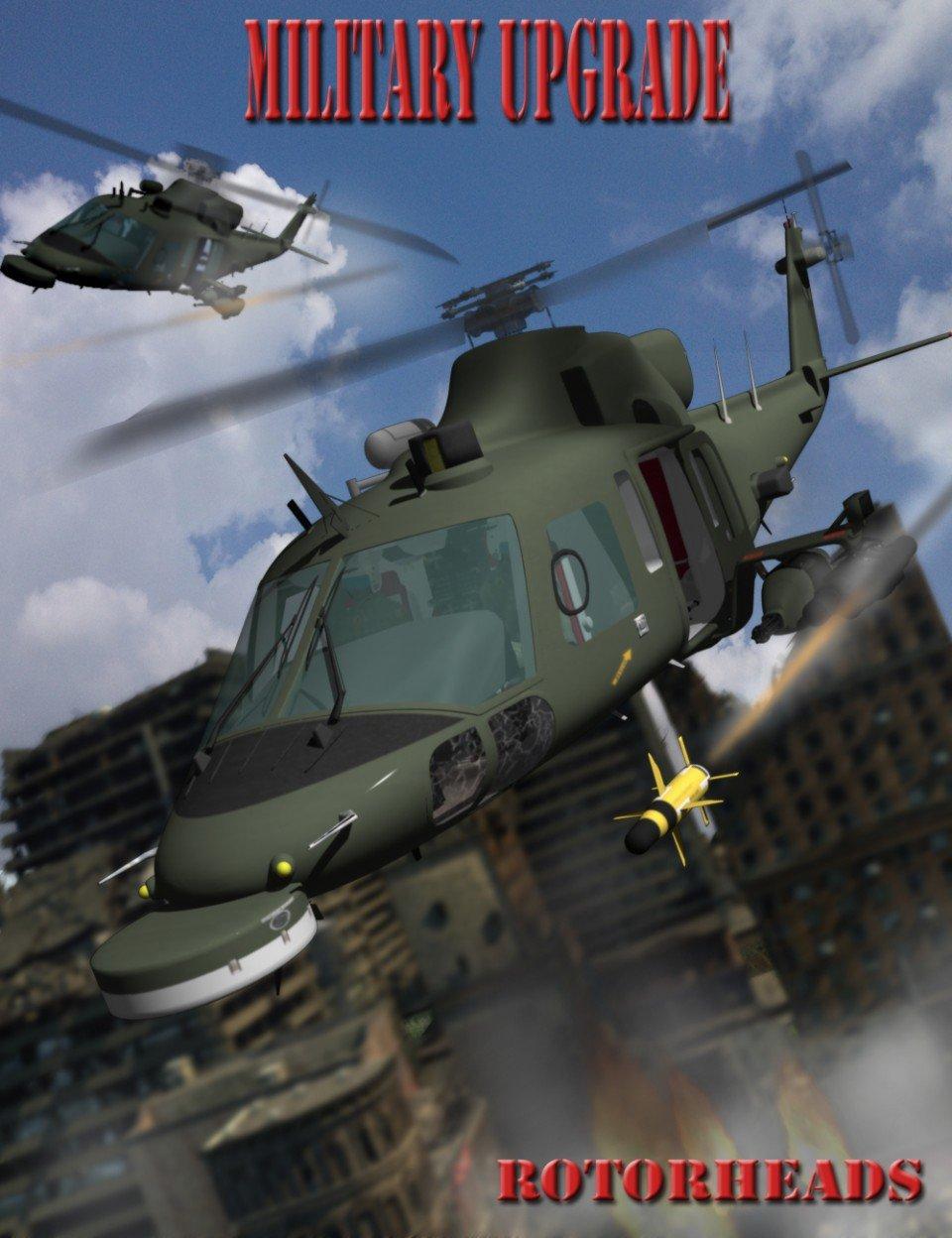 RotorHeads Military Upgrade_DAZ3D下载站