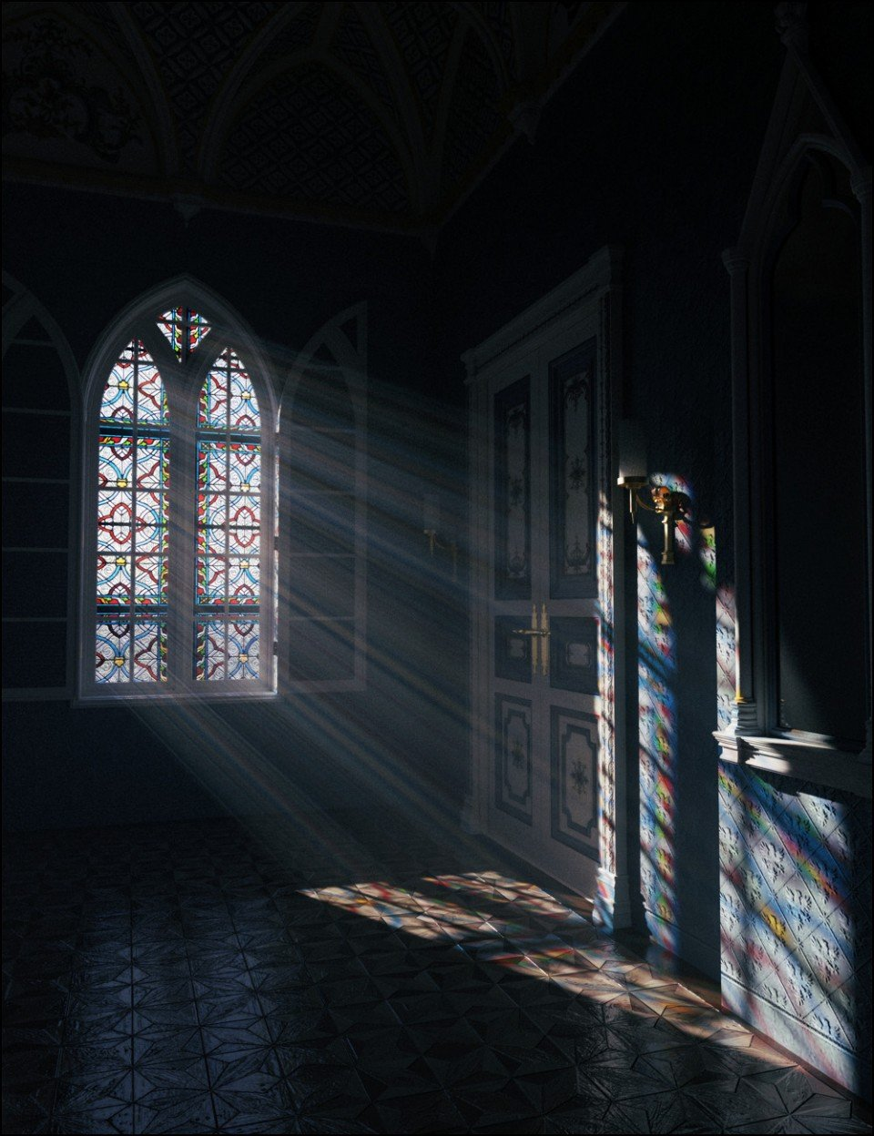 Stained Glass Iray Shaders Vol 2_DAZ3D下载站