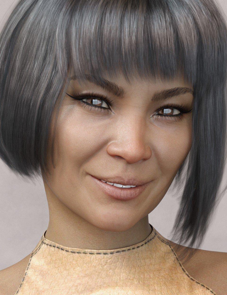 Yun HD for Genesis 8 Female_DAZ3D下载站