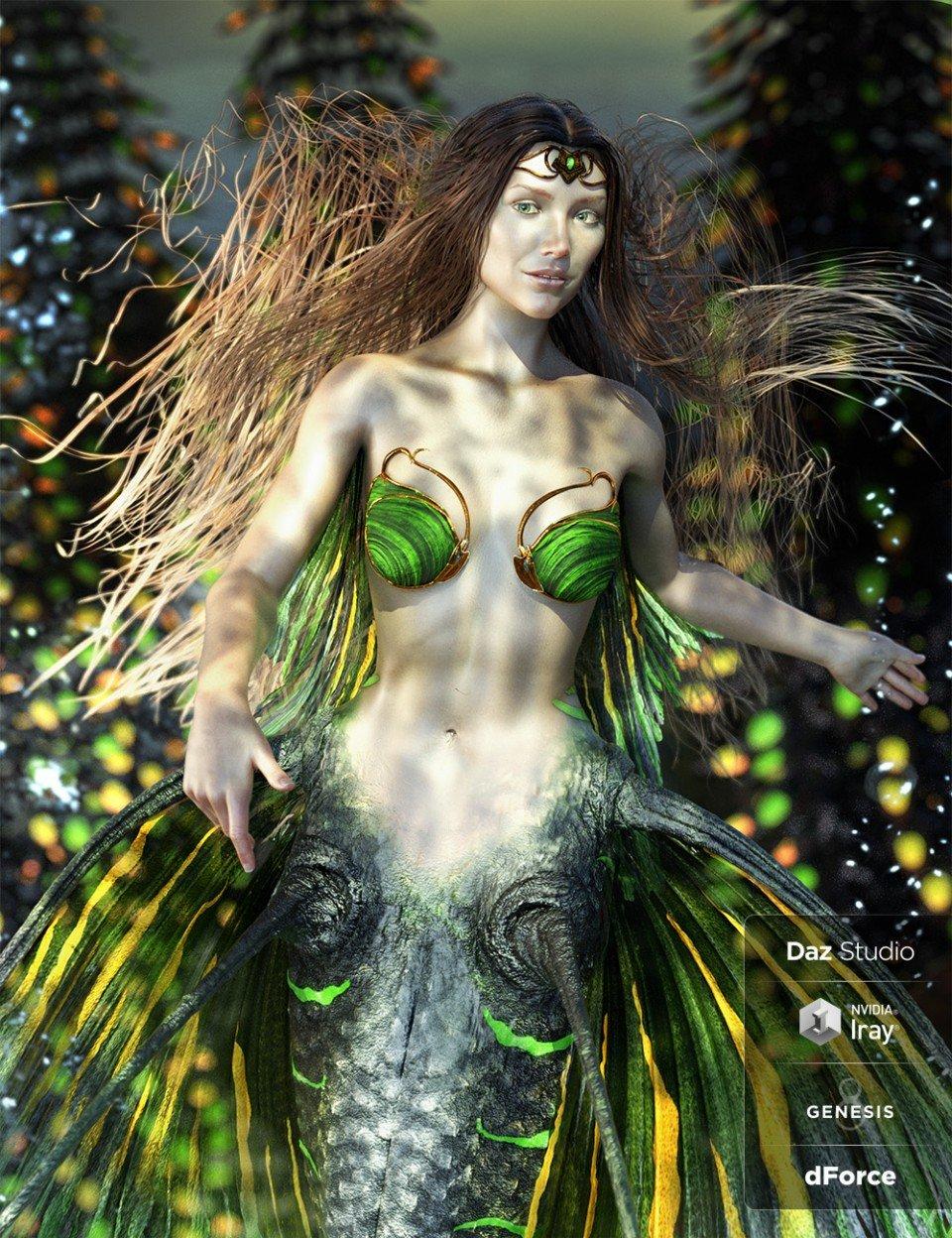 Alascanus Hair with dForce for Genesis 8 Female(s)_DAZ3D下载站