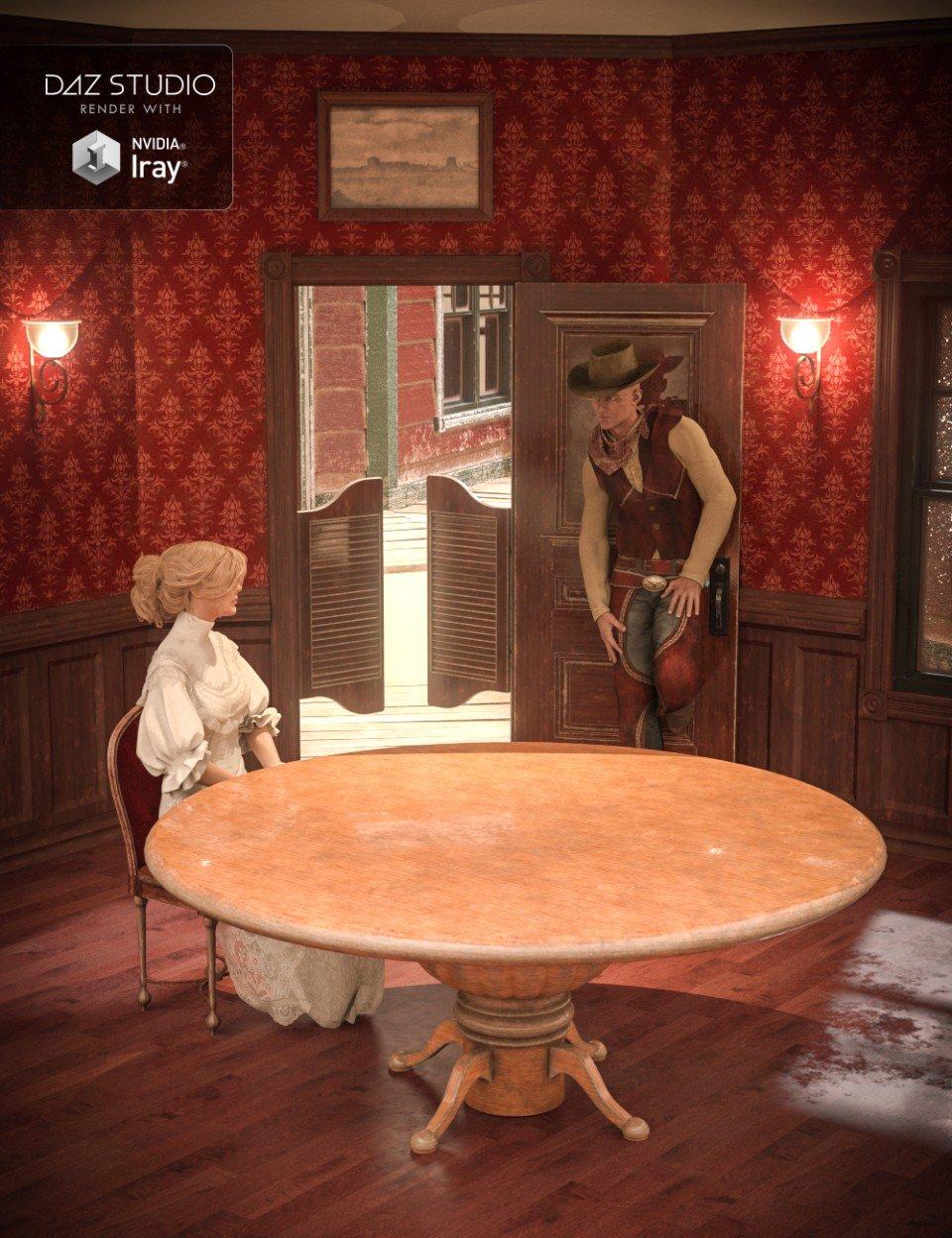 Collective3d Portrait Vignettes Old West 2_DAZ3D下载站