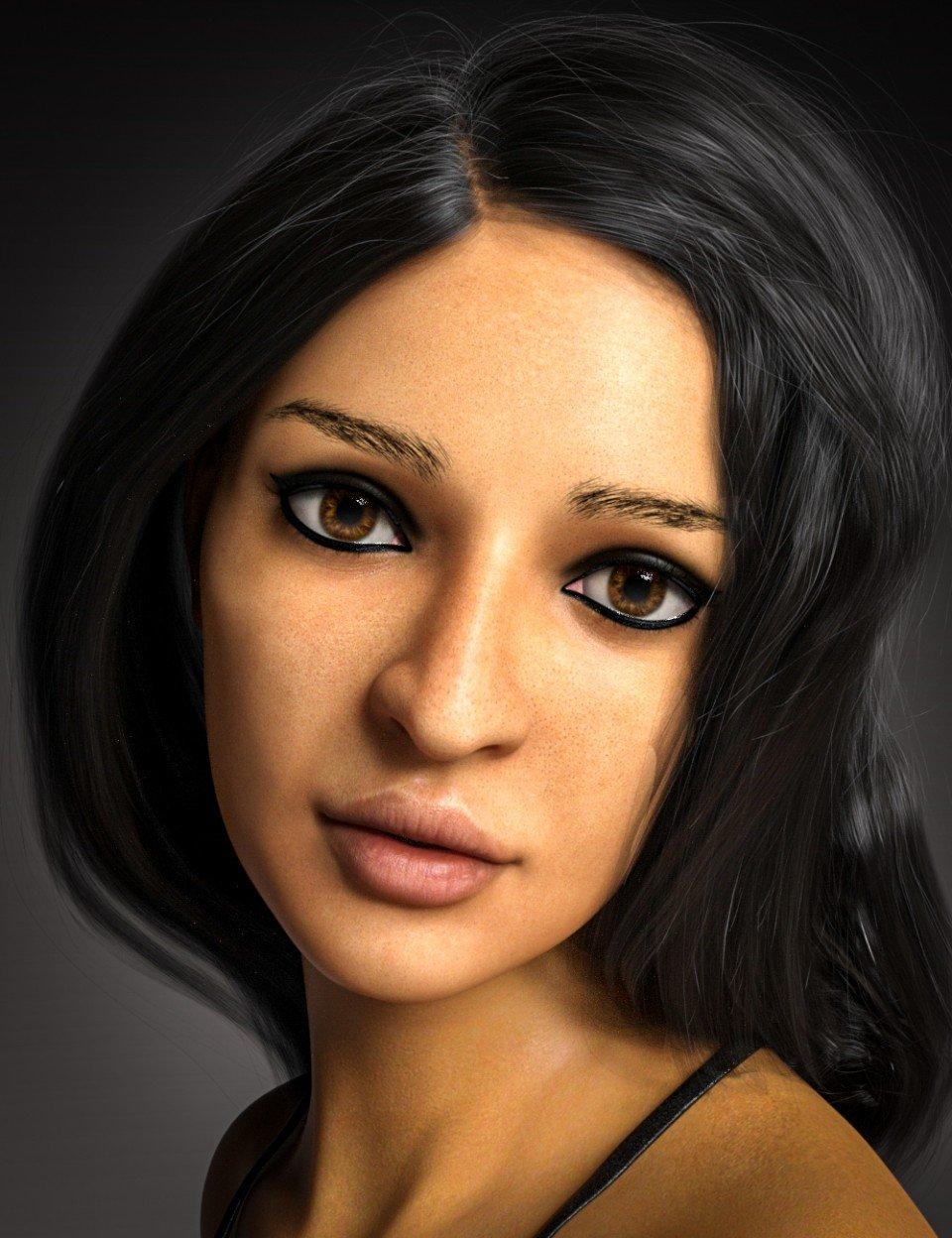 D.E.M. Rima for Genesis 8 Female_DAZ3D下载站