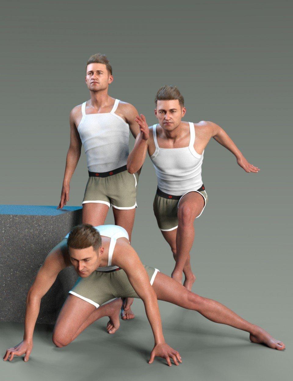 Dangerous Poses for Jonathan 8_DAZ3D下载站