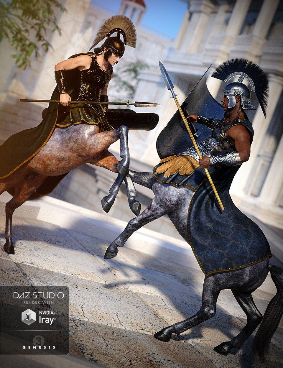 Empire Centaur Armor Textures_DAZ3D下载站
