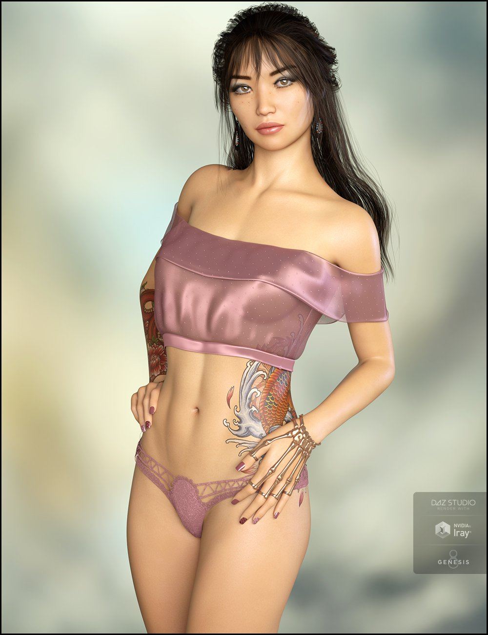 Jasmina for Genesis 8 Female_DAZ3D下载站