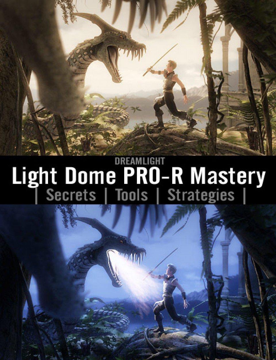 Light Dome PRO-R Mastery_DAZ3D下载站