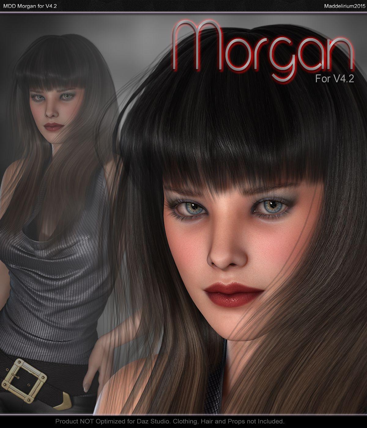 MDD Morgan for V4.2_DAZ3D下载站