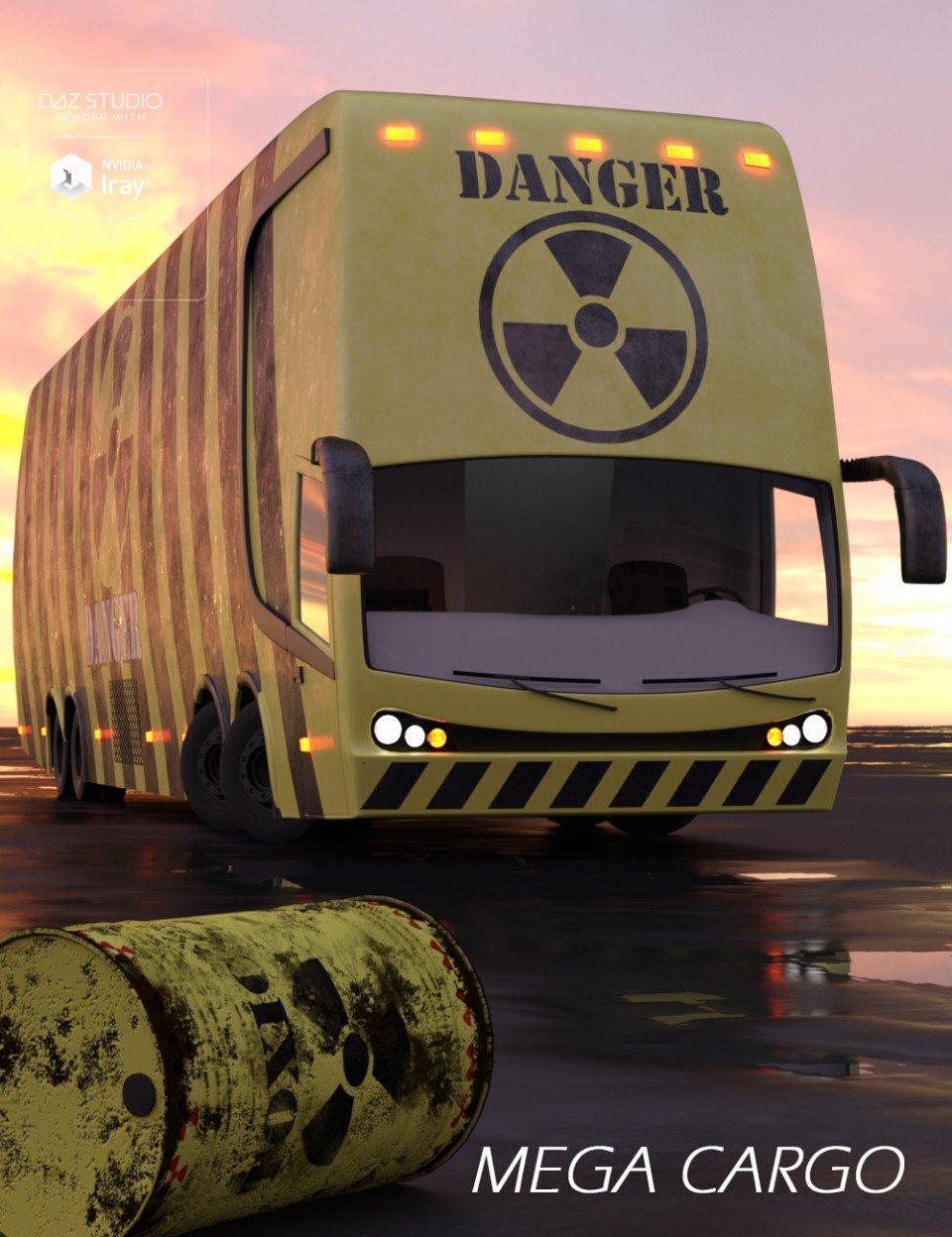 Mega Cargo Vehicle_DAZ3D下载站