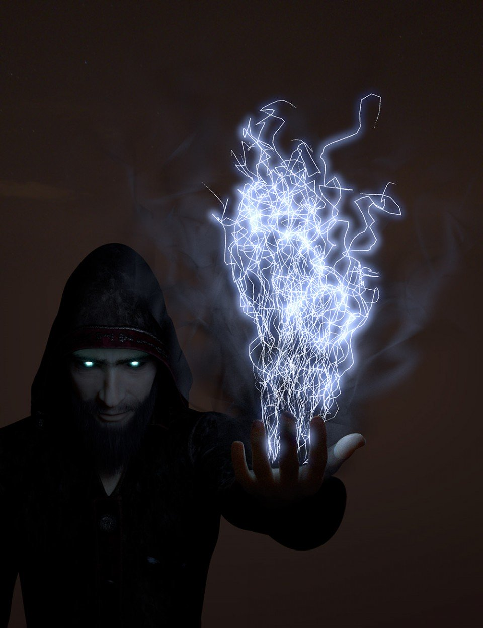 Oso Spectral Spells and Eldritch Emanations_DAZ3D下载站
