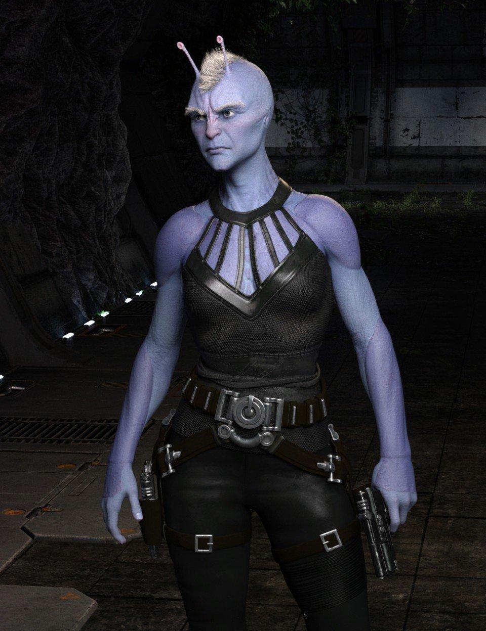 Planetary Smuggler HD for Genesis 8 Female_DAZ3D下载站