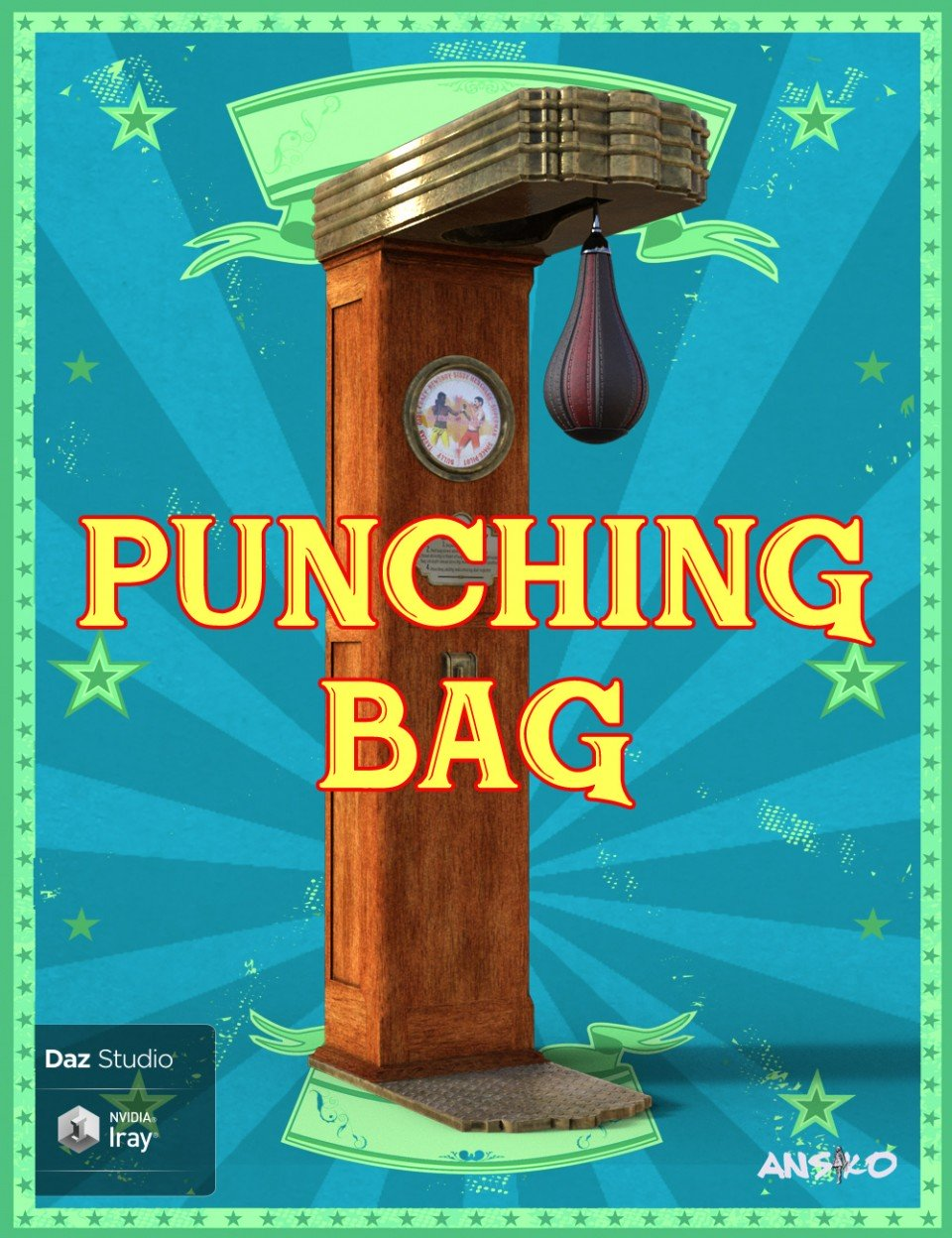 Punching Bag_DAZ3D下载站