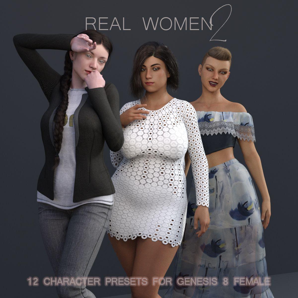 Real Women 2 for G8F_DAZ3D下载站