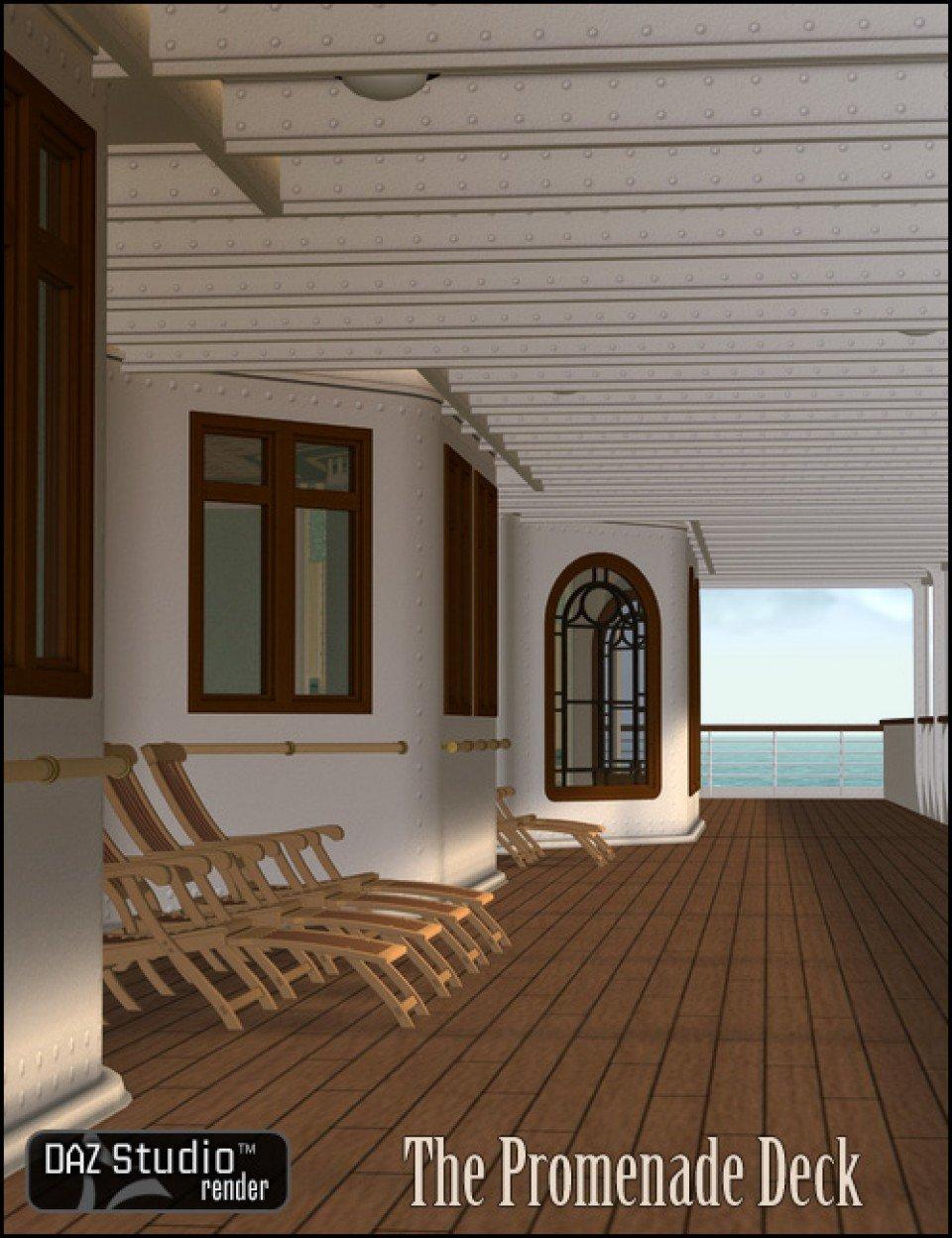 The Promenade Deck_DAZ3D下载站