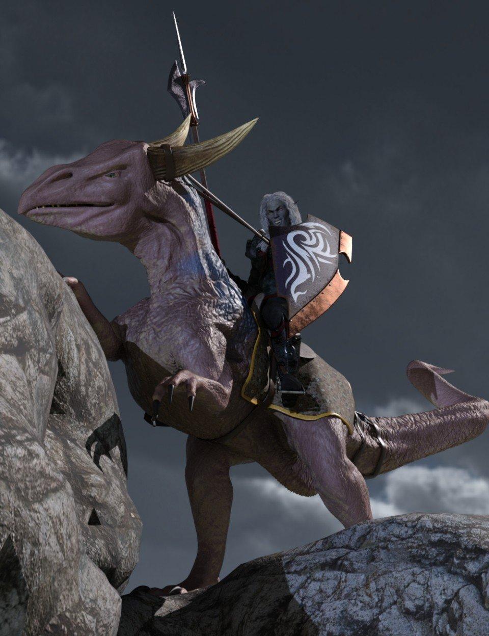 The Riding Drake_DAZ3D下载站