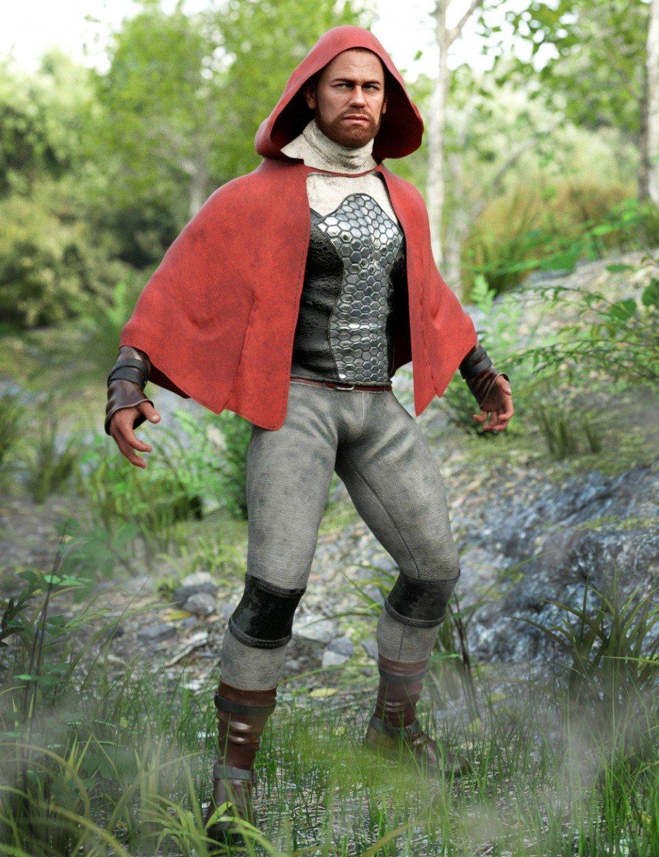 dForce Sky Rebel Outfit for Genesis 8 Male(s)_DAZ3D下载站