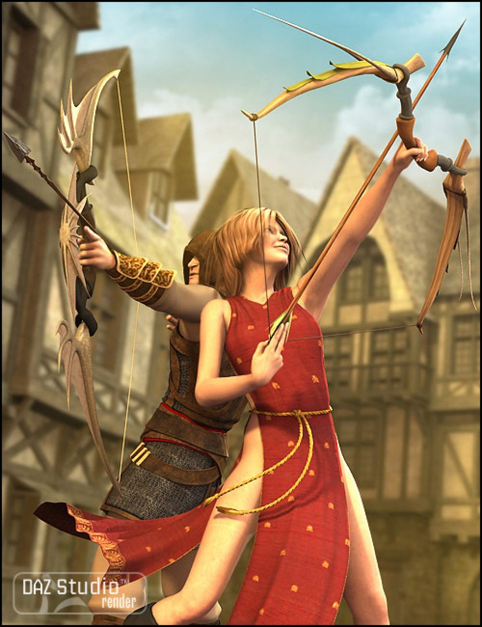 Arcane Archery_DAZ3D下载站