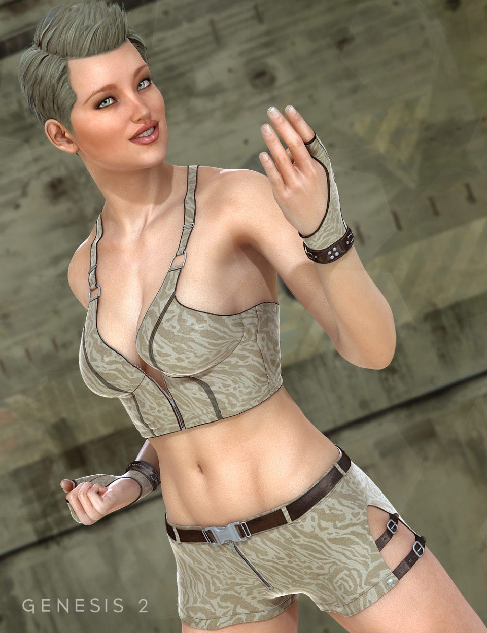 Arrowhead for Genesis 2 Female(s)_DAZ3D下载站