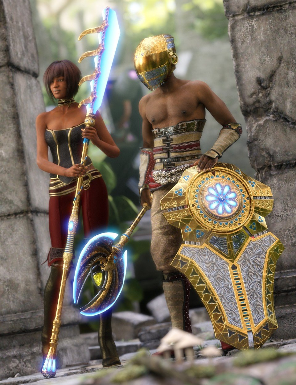 Atlantida Weapons_DAZ3D下载站