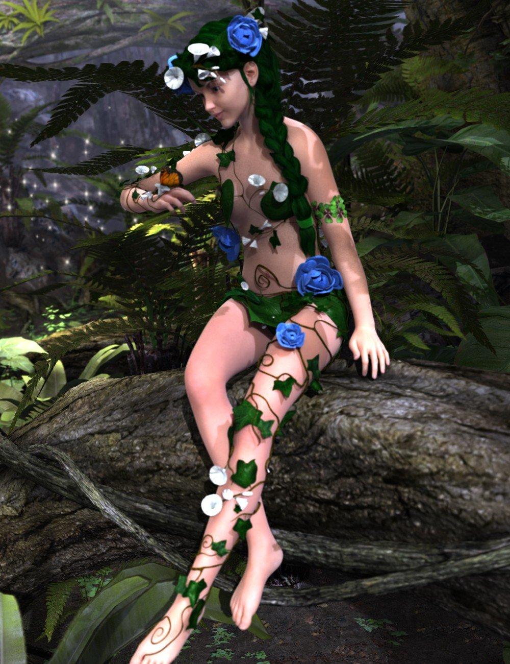 Dryade for Genesis 2 Female(s)_DAZ3D下载站
