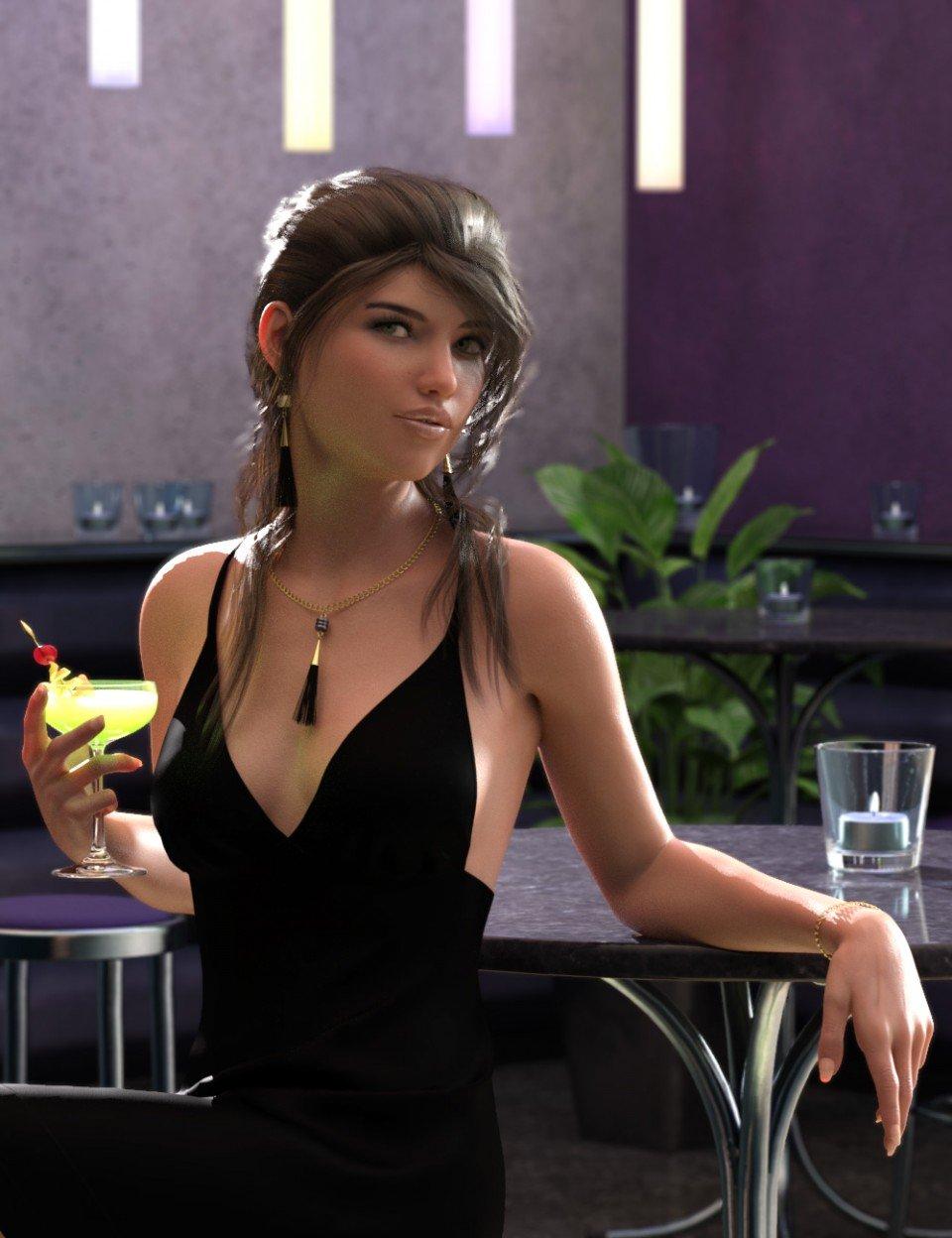 Fancy Cocktails Bundle_DAZ3D下载站