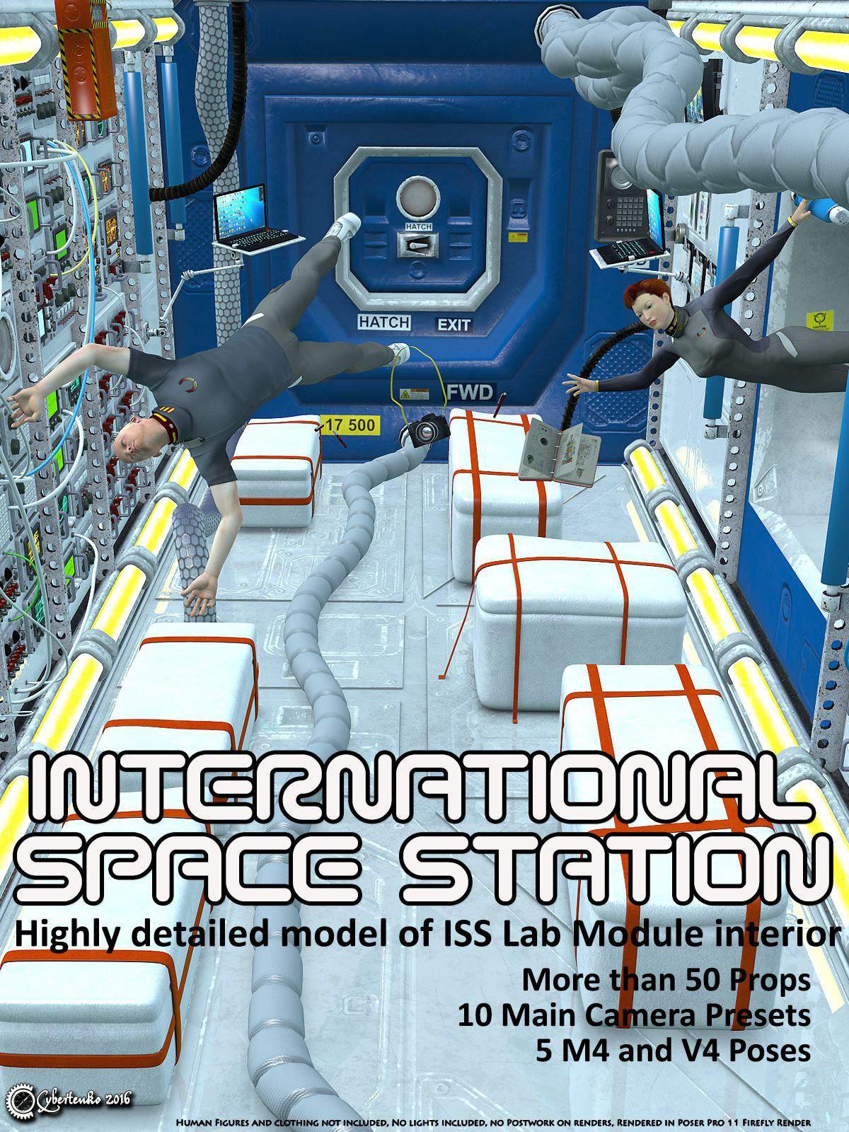 International Space Station_DAZ3D下载站