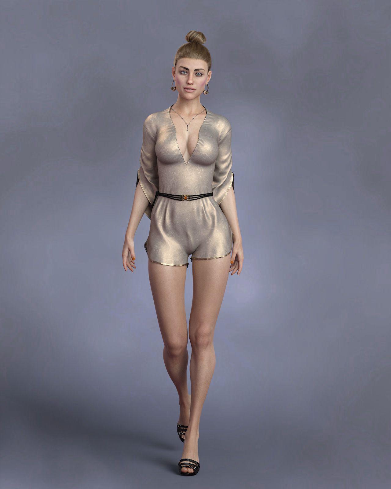 KrashWerks BRITTANY for Genesis 8 Female_DAZ3D下载站