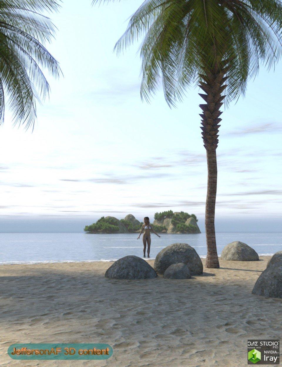 My Beach_DAZ3D下载站