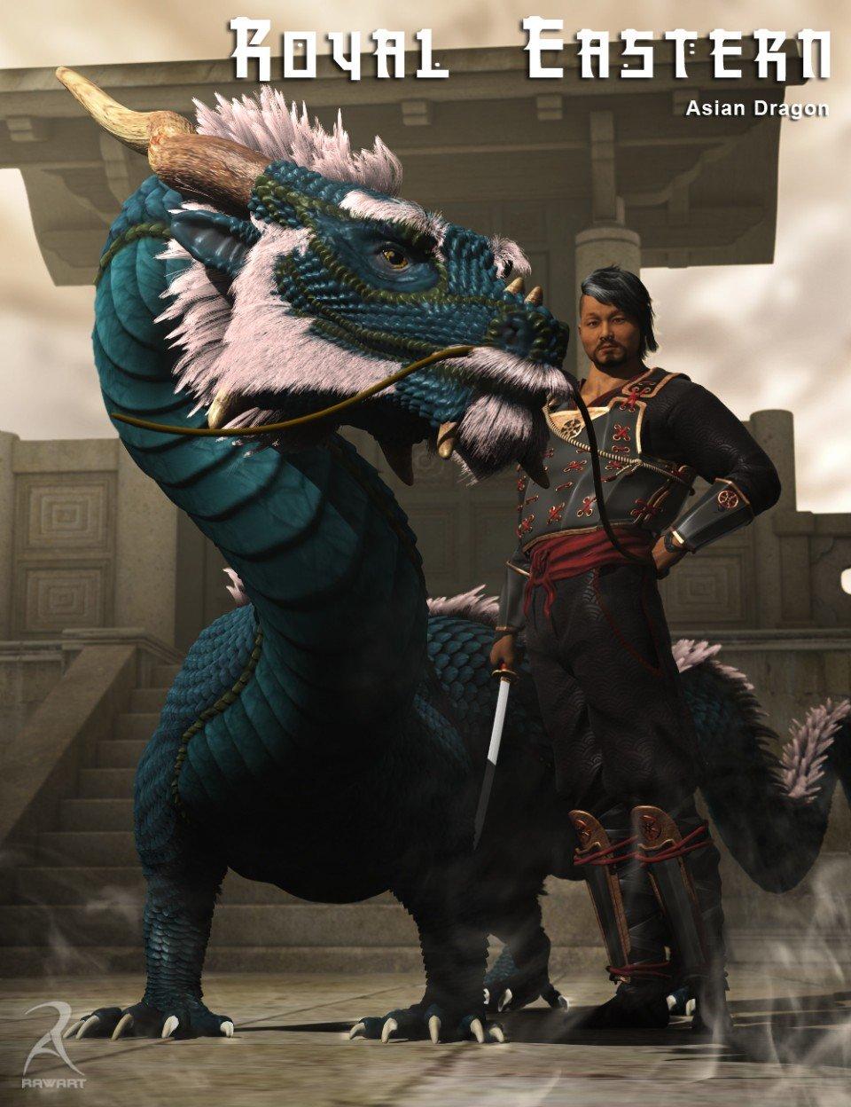 Royal Eastern – The Asian Dragon_DAZ3D下载站