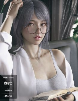 Ruo Xi Collection for Genesis 8 Female(s)_DAZ3D下载站