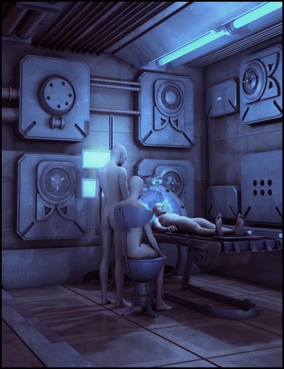 SciFi Interior_DAZ3D下载站