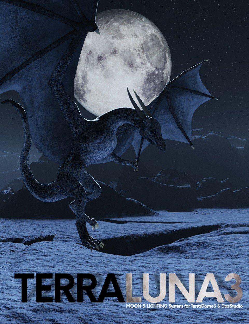 TerraLUNA 3_DAZ3D下载站