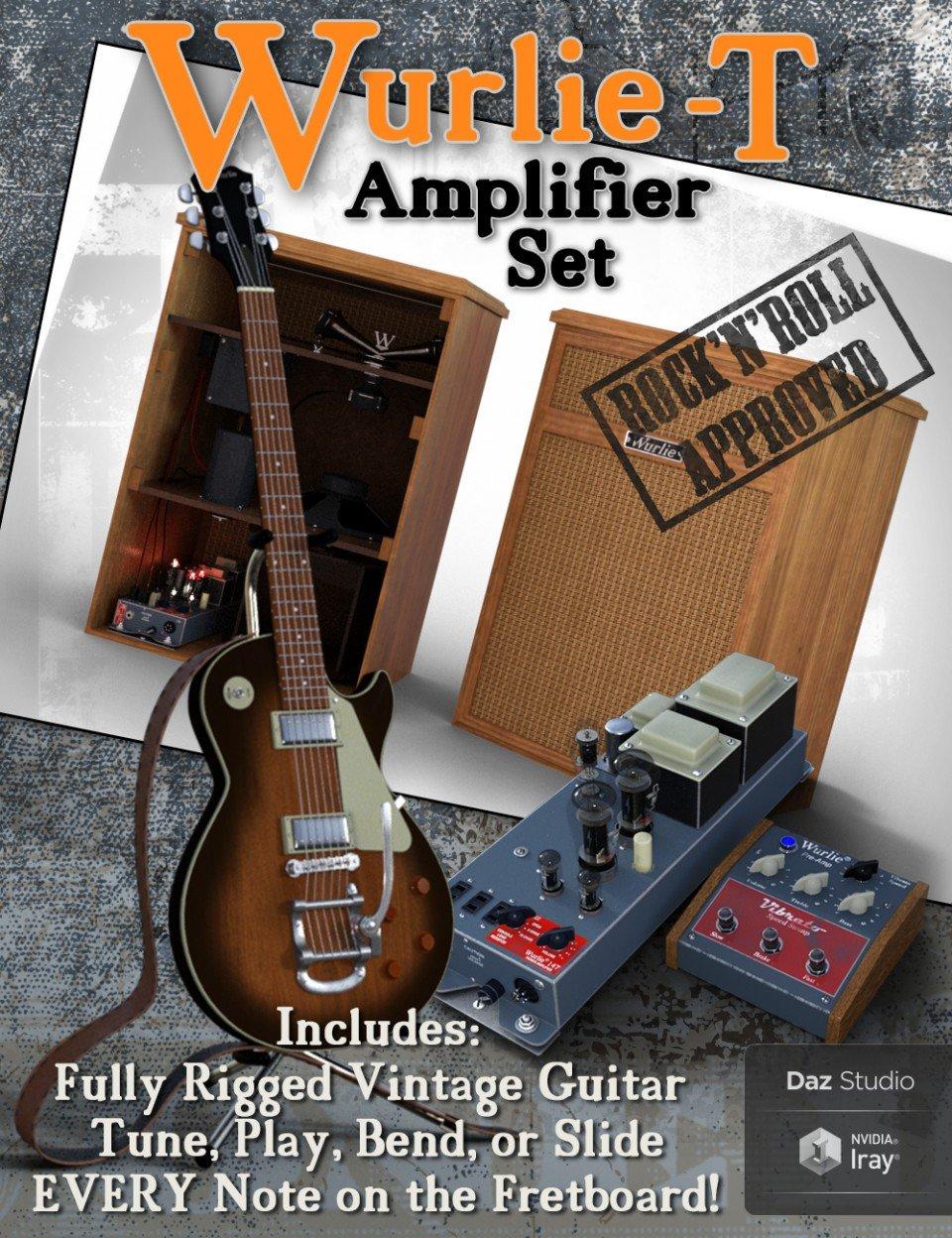 Wurlie-T Amplifier Set_DAZ3D下载站