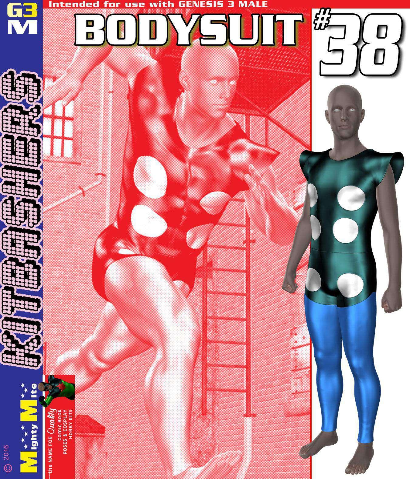 Bodysuit 038 MMKBG3M_DAZ3D下载站