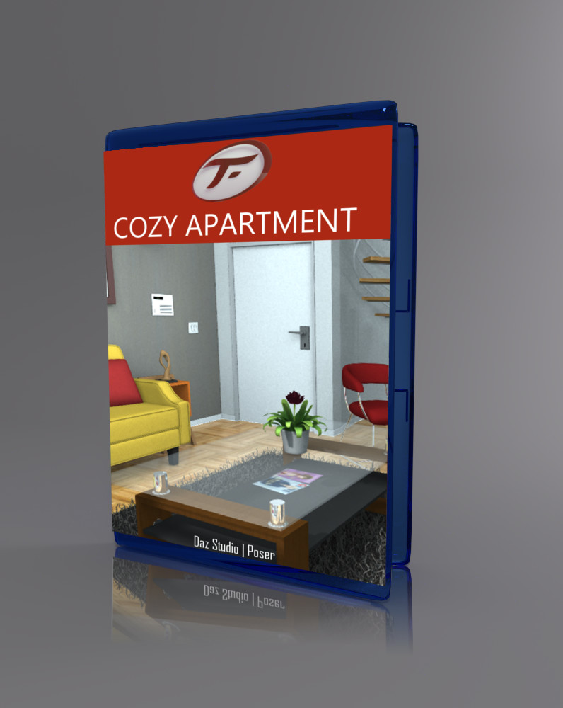 Cozy Apartment_DAZ3D下载站