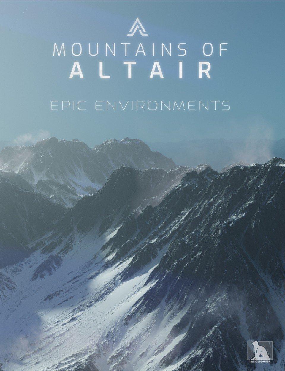 Epic Environments – Mountains of Altair_DAZ3D下载站