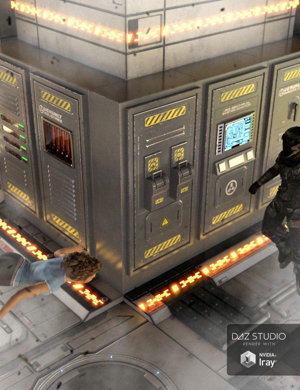 Sci-Fi Switchgear_DAZ3D下载站