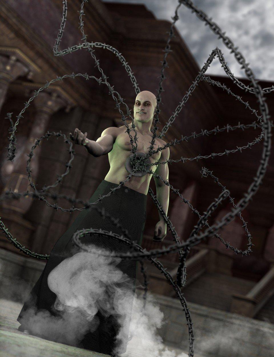 Strands of Horror for Genesis 2_DAZ3D下载站